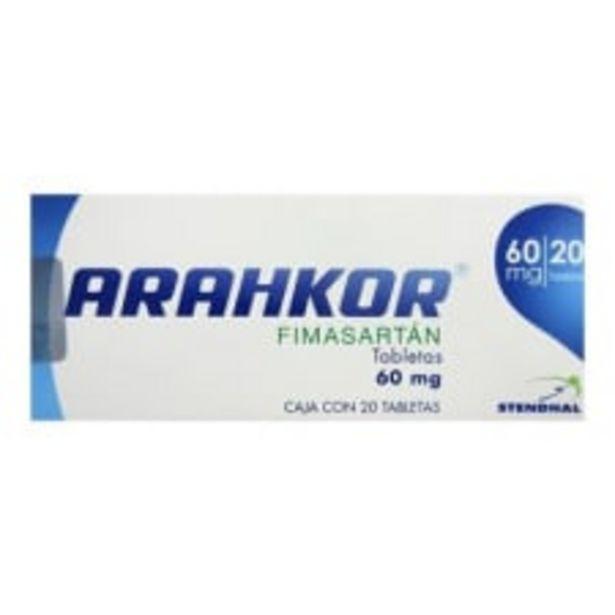 Oferta de Arahkor 60 mg 20 tabletas por $776