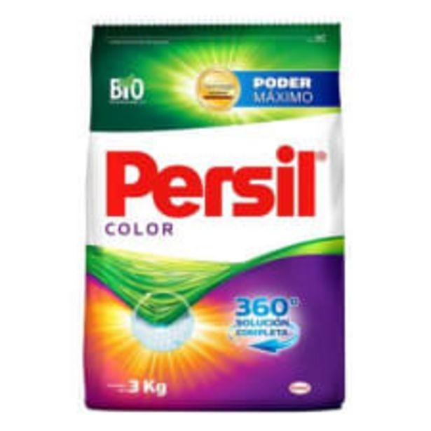 Oferta de Detergente en polvo Persil color 3 kg por $79