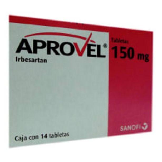 Oferta de Aprovel tabletas 14 pzas de 150 mg c/u por $485