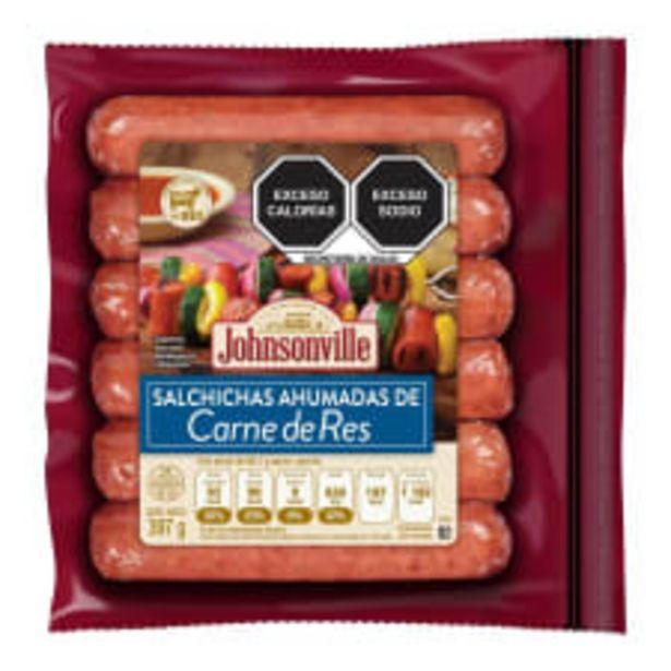 Oferta de Salchichas Johnsonville de carne de res 397 g por $109