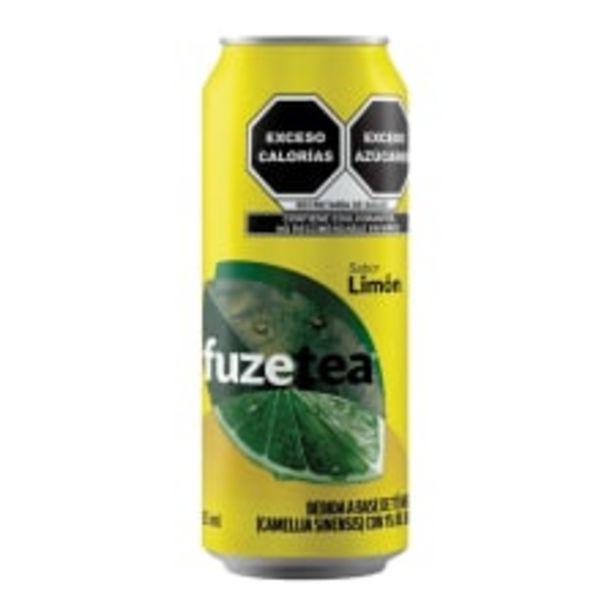 Oferta de Té negro Fuze Tea en lata sabor limón 453 ml por $10