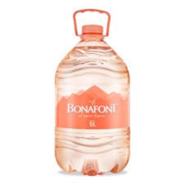 Oferta de Agua Bonafont natural 6 l por $25.5
