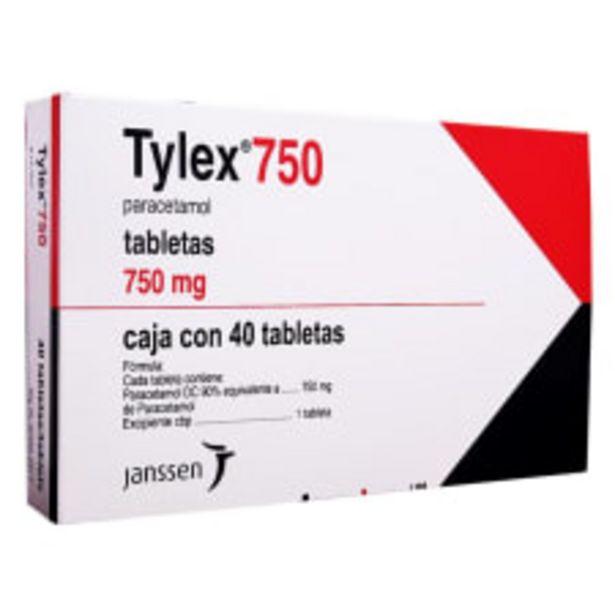 Oferta de Tylex 750 mg 40 tabletas por $298