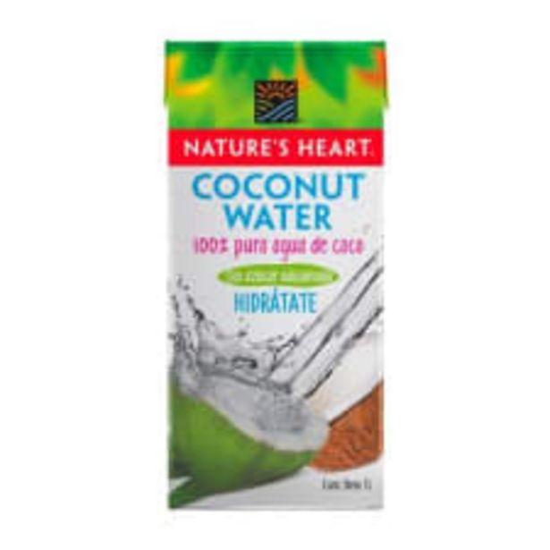 Oferta de Agua de coco Nature's Heart 1 l por $39.9