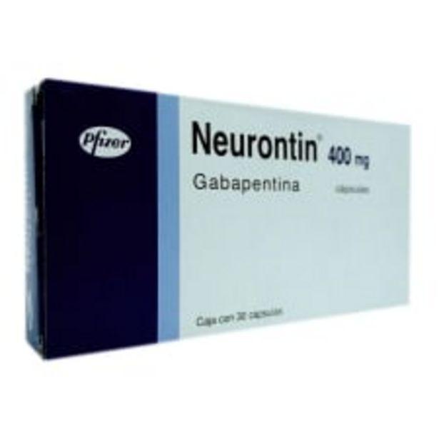 Oferta de Neurontin 400 mg 30 cápsulas por $956