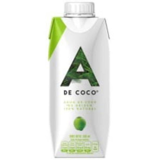 Oferta de Agua de coco A de Coco 330 ml por $14.5