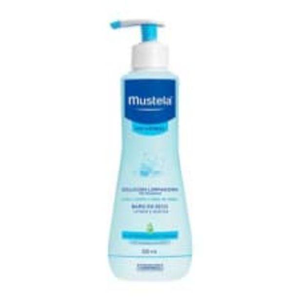 Oferta de Solución limpiadora Mustela sin enjuague para piel normal 300 ml por $99