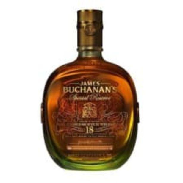 Oferta de Whisky Buchanans Reserva Especial 18 años Escocés 750 ml por $1460