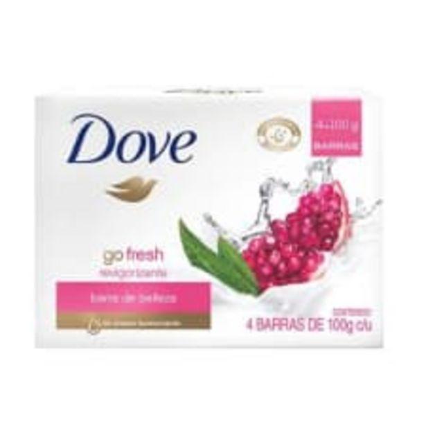 Oferta de Jabón corporal Dove go fresh revigorizante 4 pzas de 100 g c/u por $46.2