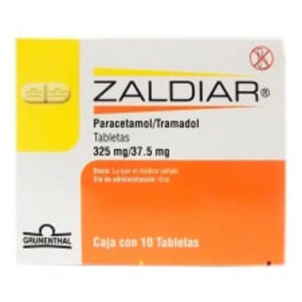 Oferta de Zaldiar 325 mg/37.5 mg 10 tabletas por $371