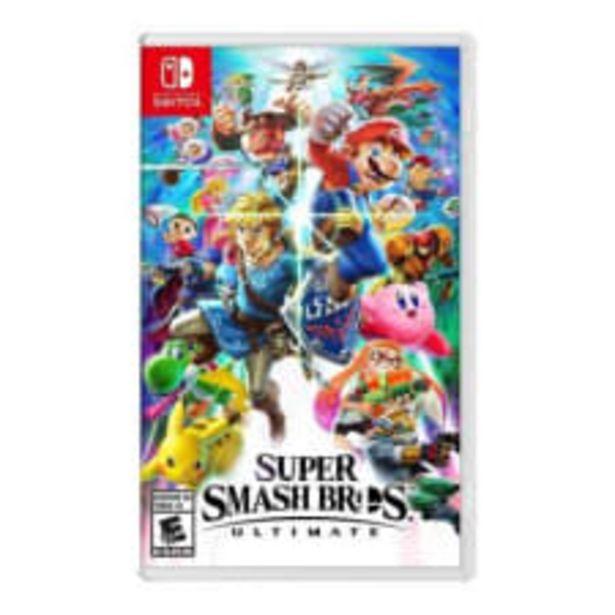 Oferta de Super Smash Bros Ultimate Nintendo Switch Físico por $1699