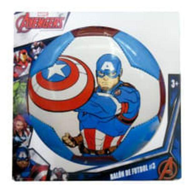 Oferta de Balón de Fútbol Soccer Goplas Marvel Capitán América Número 3 por $109