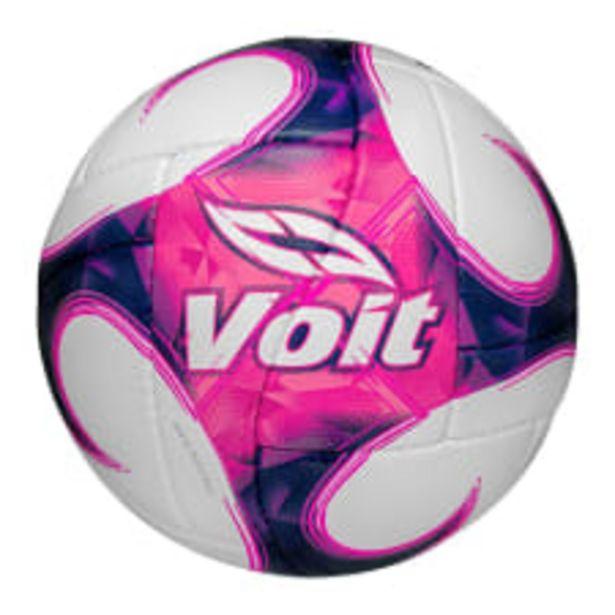 Oferta de Balón de Futbol Voit No 5 Rosa por $249