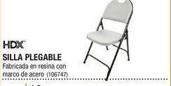 Oferta de Silla plegable HDX por