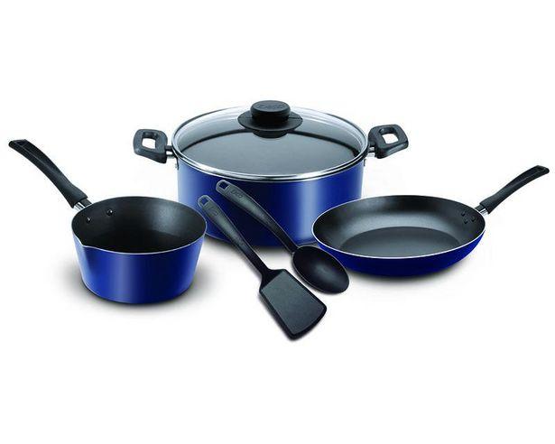 Oferta de Ekco Batería de Cocina Azul 6 piezas por $499.99