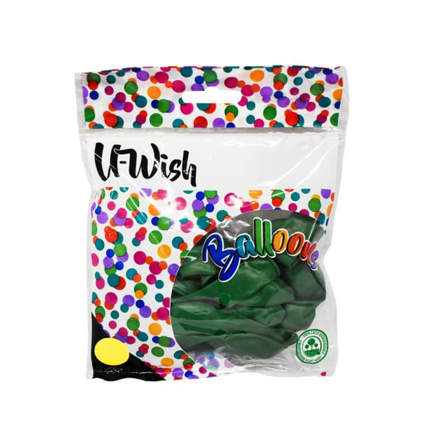 Oferta de Bolsa con 15 Globos Verdes por $24.99