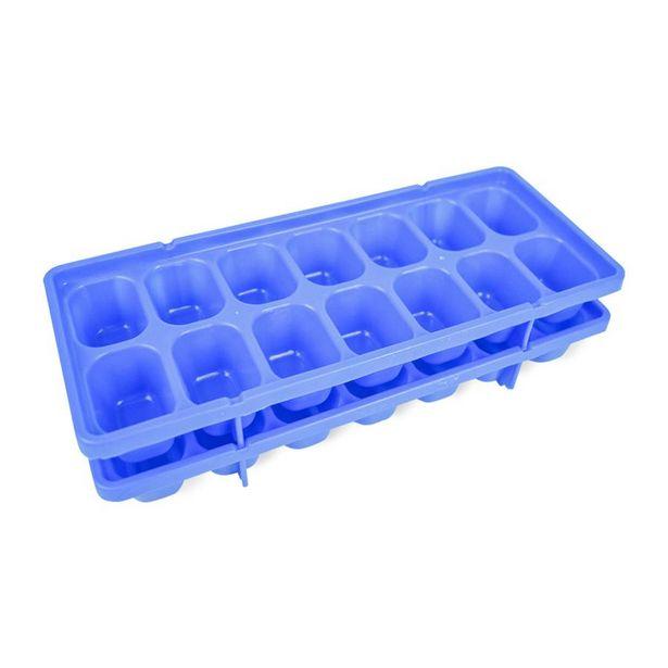 Oferta de Molde de Plástico para Hielo Azul por $29.99