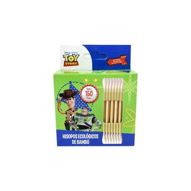 Oferta de Hisopos Ecológicos de Bambú Toy Story 150 Piezas por $14.99