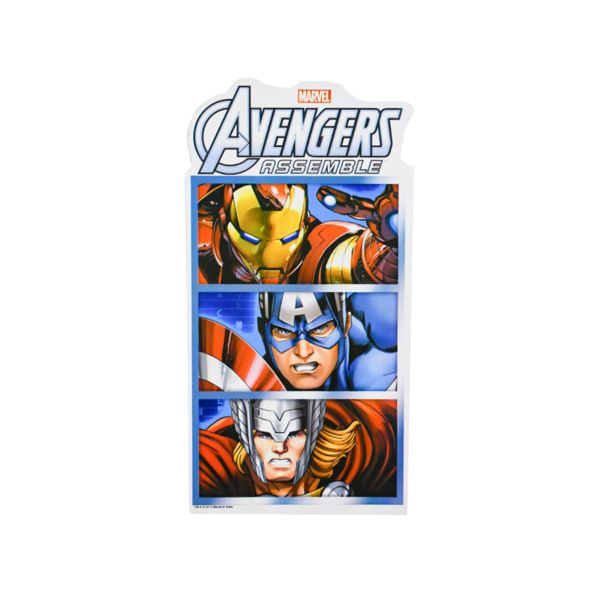 Oferta de Kit decoración Avengers por $29.99