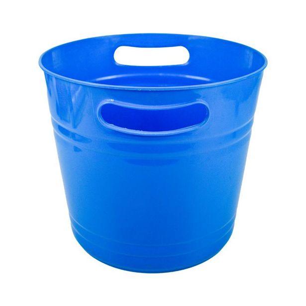 Oferta de Cubeta para Hielos Azul por $39.99