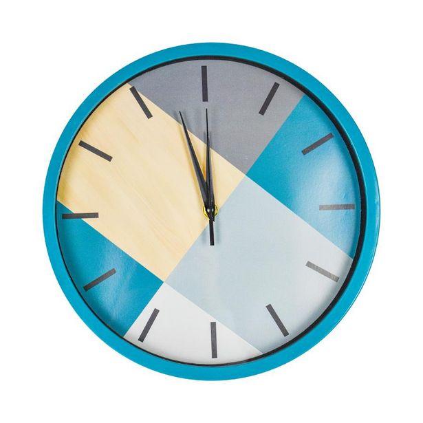 Oferta de Reloj de Pared Inkanto Azul por $99.99