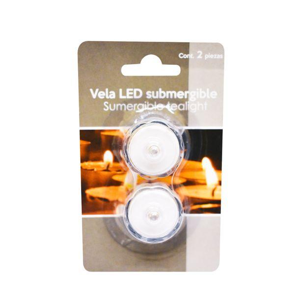 Oferta de Set de Velas Tealight Led Flotantes por $29.99