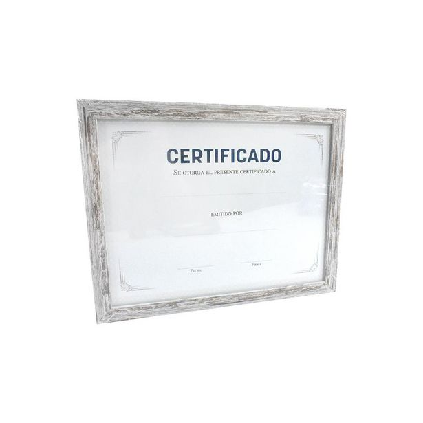 Oferta de Porta Diploma Madera Elegance por $49.99