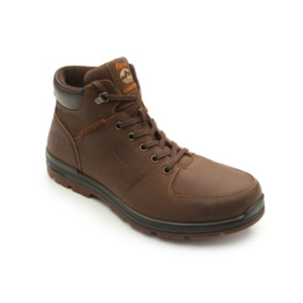 Oferta de Bota Para Outdoor Flexi Country Con Dos Pares De Agujetas De Color Para Hombre - Estilo 92102 Dark Brown por $599.5