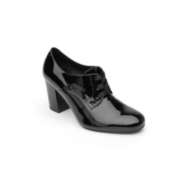 Oferta de Zapato De Tacón De Vestir Flexi De Charol Para Mujer - Estilo 37903  Negro por $527.4