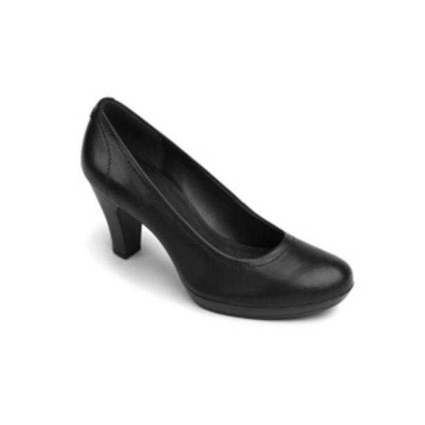 Oferta de Zapato De Tacón Para Oficina Flexi Con Pespunte Para Mujer - Estilo 34301 Negro por $399.5