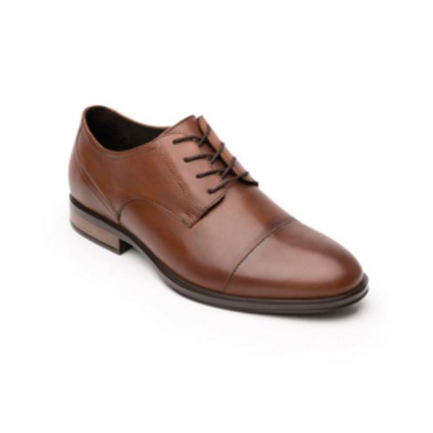 Oferta de Zapato De Vestir Urbano Quirelli 100% De Piel  Para Hombre - Estilo 701501 Tan por $1