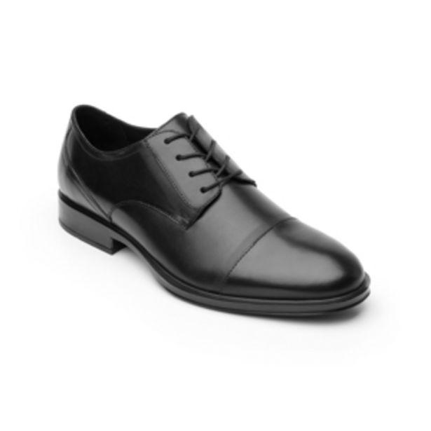 Oferta de Zapato De Vestir Urbano Quirelli 100% De Piel  Para Hombre - Estilo 701501 Negro por $1