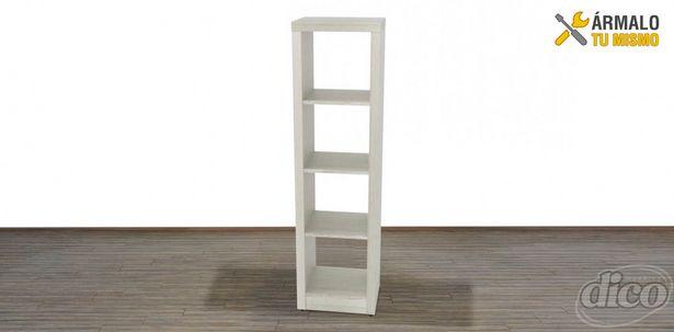 Oferta de Librero Engrosado Vertical Maxima Gris por $2599