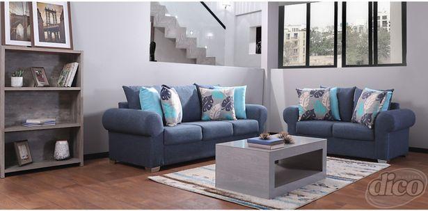 Oferta de Sala Linato Janine Azul por $12998