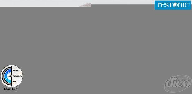 Oferta de Colchón Restonic Matrimonial Duster por $3999