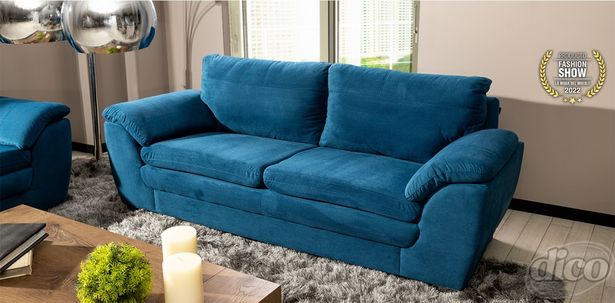 Oferta de Sofá Ruzz Azul por $8299