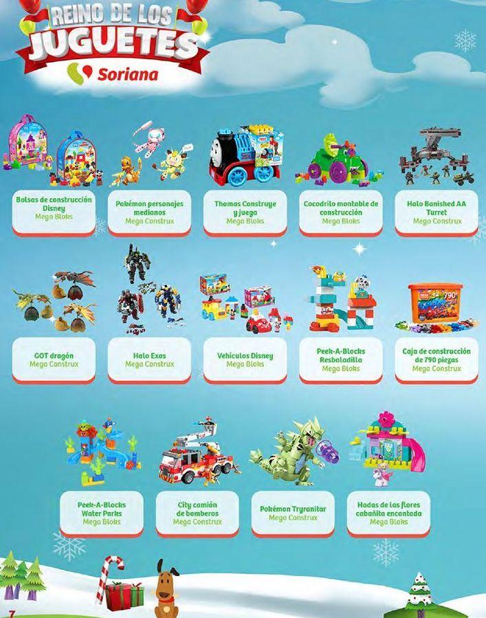 Oferta de Tren de juguete Mega Blocks por