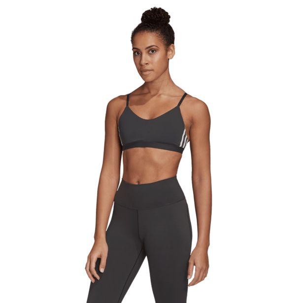 Oferta de New Sujetador Deportivo Adidas Fitness All Me 3 Stripes Mujer por $319.6