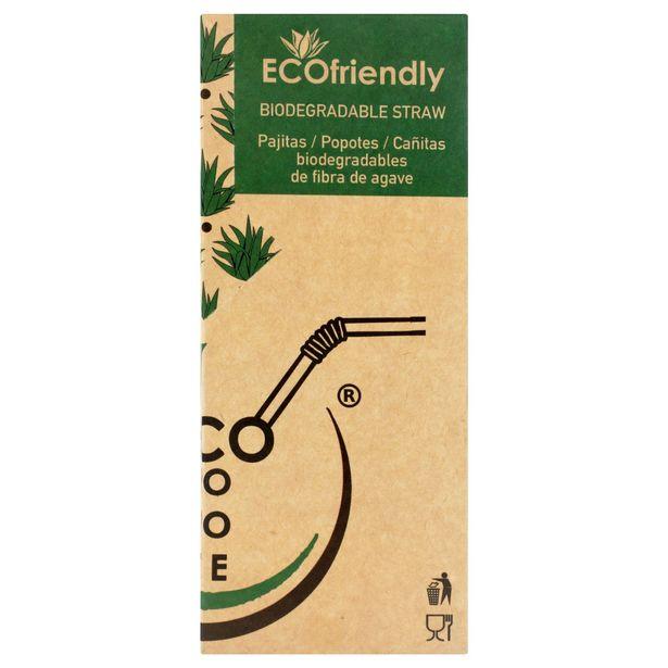 Oferta de Popote de Agave Ecopopote - 1 caja por $85.58