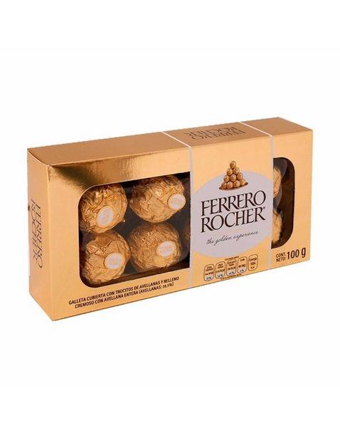 Oferta de Chocolate Ferrero Rocher T8 - 100 g por $79