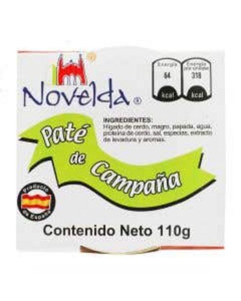 Oferta de Paté de Campaña de higado de Cerdo Novelda - 110g por $53.93