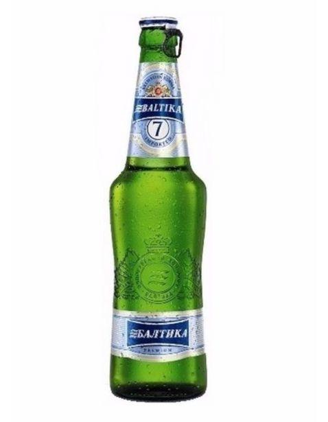 Oferta de Cerveza Baltika 7- 470 ml por $40.9