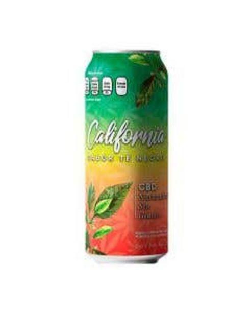 Oferta de Bebida CBD California Te Negro 473 ml por $40