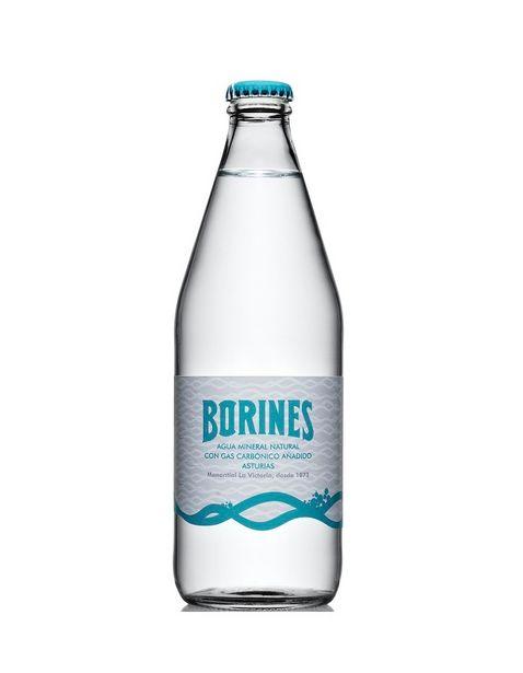 Oferta de Agua Natural Gasificada Borines - 500 ml por $38.5