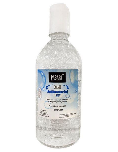 Oferta de Gel Antibacterial Pasari - 500 ml por $50.97