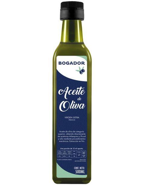 Oferta de Aceite de Oliva Extra Virgen Bogador - 500ml por $112.46