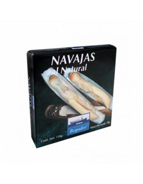 Oferta de Navajas al Natural Bogador - 138 g por $97