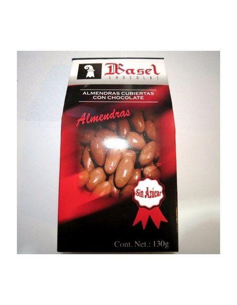Oferta de Almendras Cubiertas de Chocolate sin Azucar - 130 g por $117