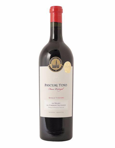 Oferta de Vino Tinto Pascual Toso Finca Pedregal Single Vineyard - 750 ml por $1671.77