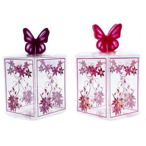 Oferta de Caja de Acetato Mariposa por $19.99